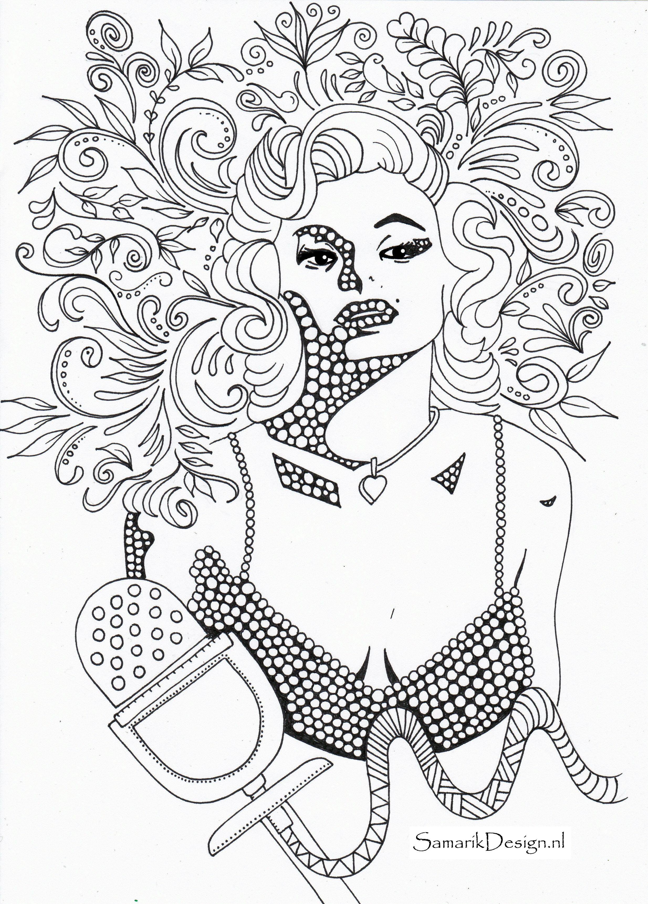 Marilyn Monroe Famous People Coloring Pages Valentine Coloring Pages Super Mario Coloring Pages