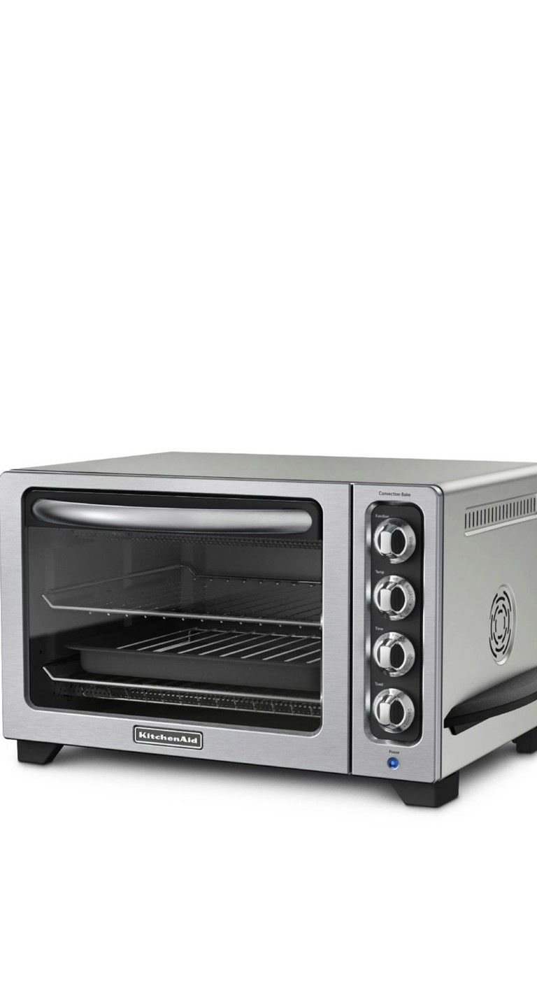 Full Size Oven Performance With A Kitchenaid Silver 12
