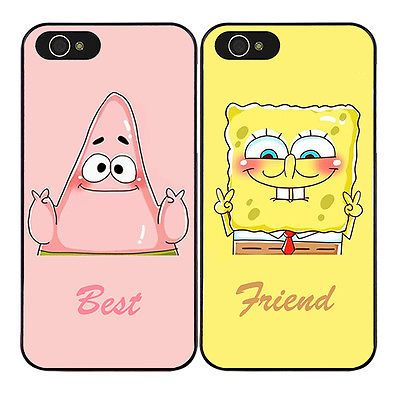 Spongebob Partrick Best Friend Phone Case Cover For Iphone 8 7 6s 6 Plus X Xs Xr Friends Phone Case Bff Phone Cases Iphone Iphone Case Covers