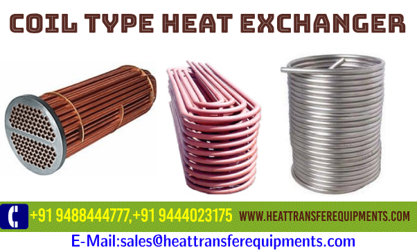 Coil Type Heat Exchanger Heat exchanger, Thermal