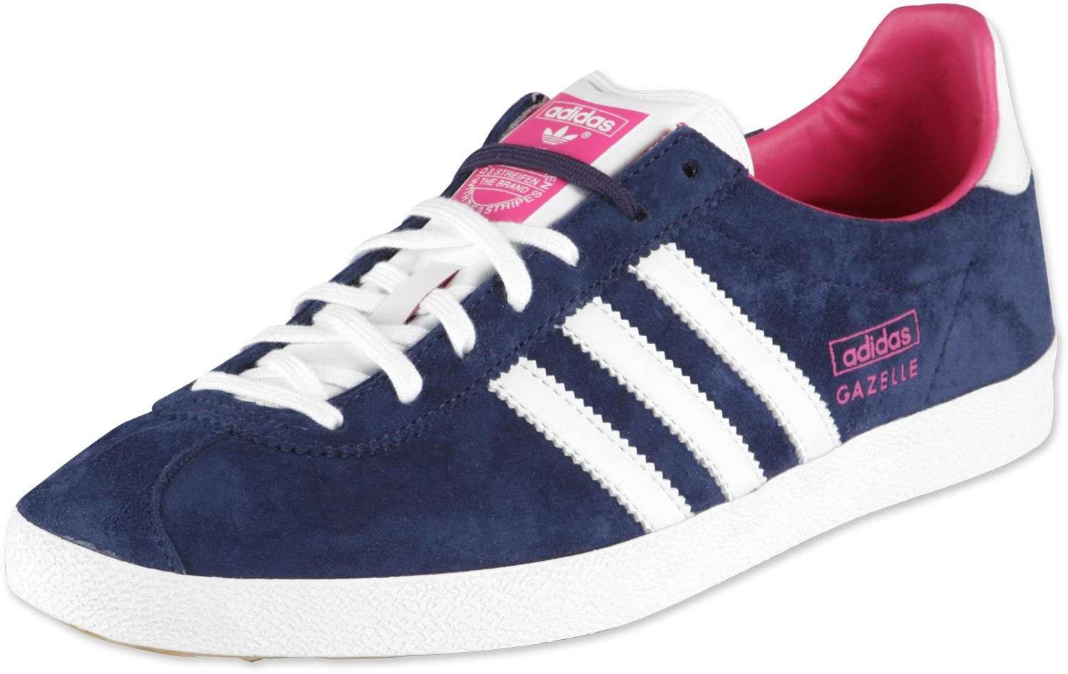 Adidas Gazelle Pink And Blue