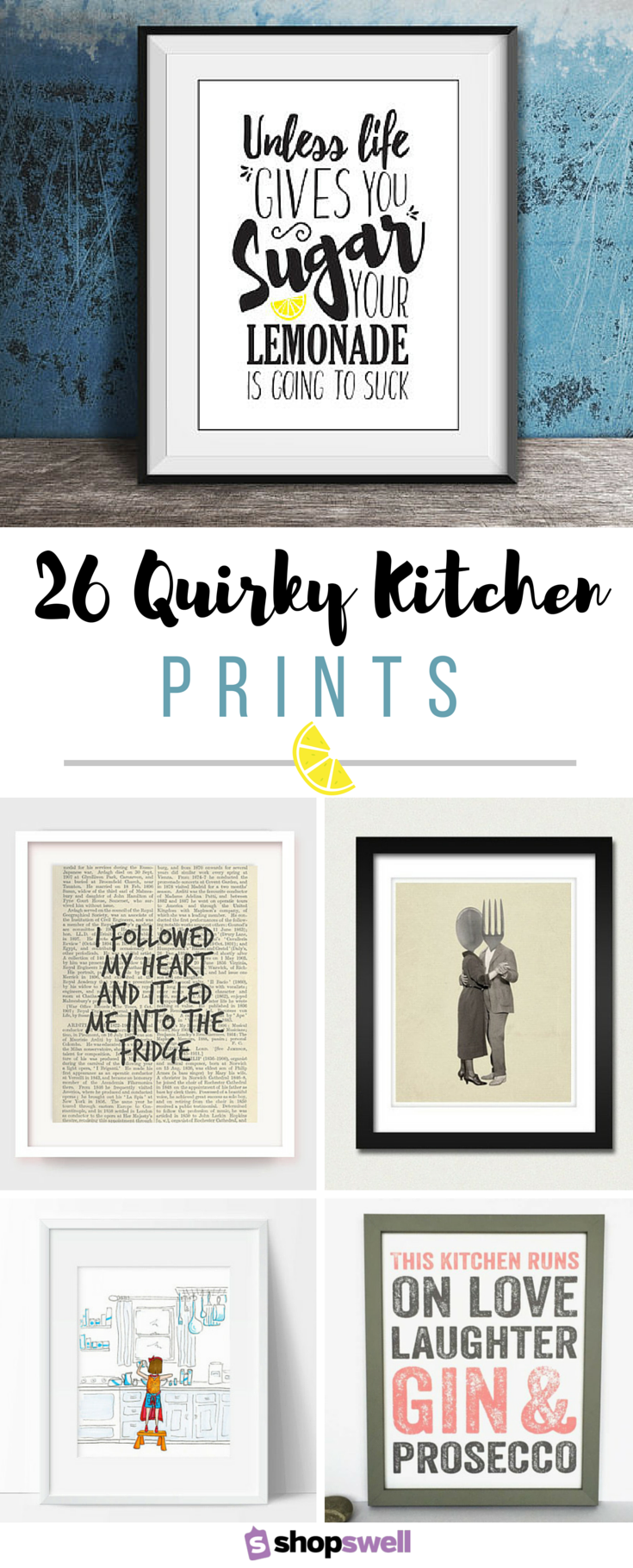 Quirky Kitchen Art & Decor in 2019 | Quirky kitchen, Quirky ...