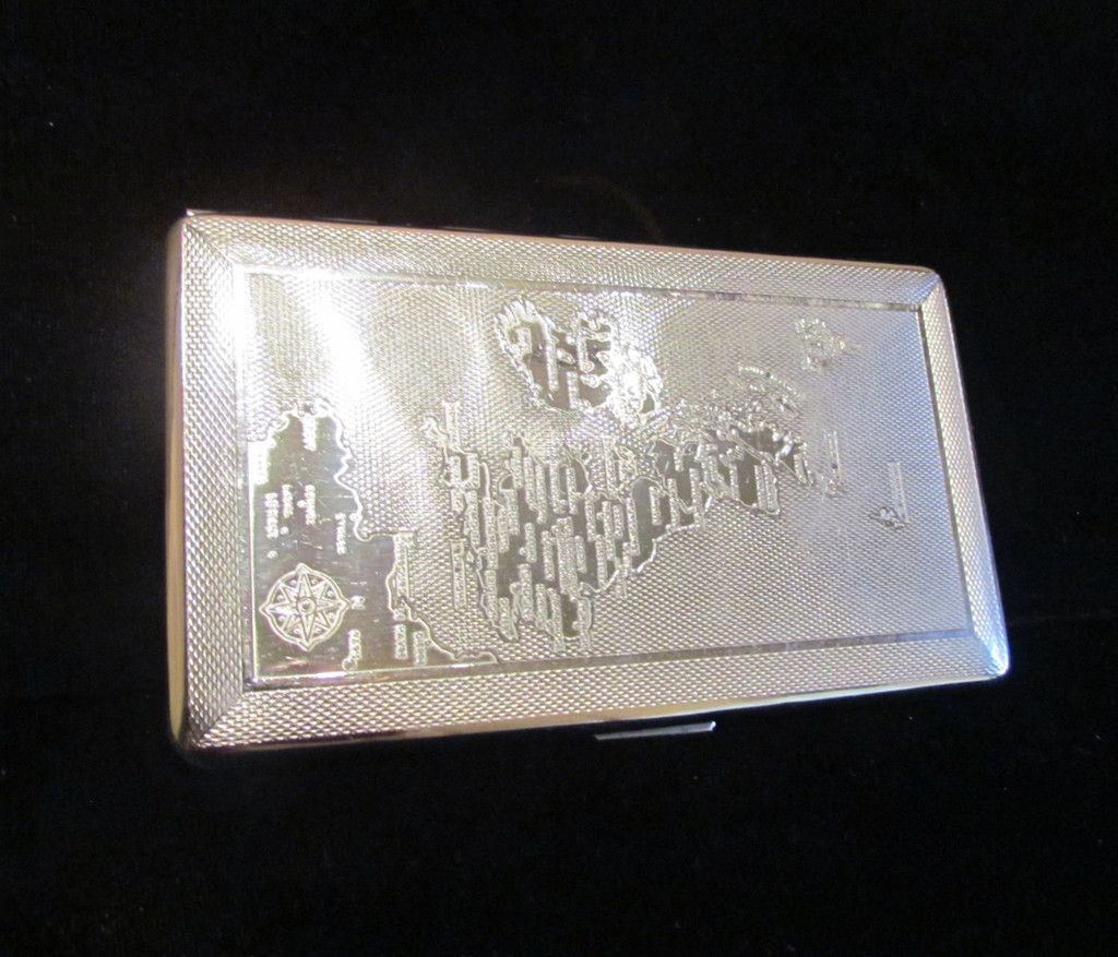 1940s cigarette case ontario canada map har bro england business 1940s cigarette case ontario canada map har bro england business card credit card holder wallet excellent condition magicingreecefo Gallery