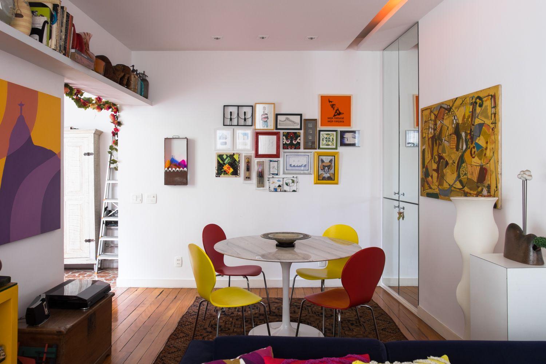 Casinha colorida: Rapidinha décor: Life by Lufe
