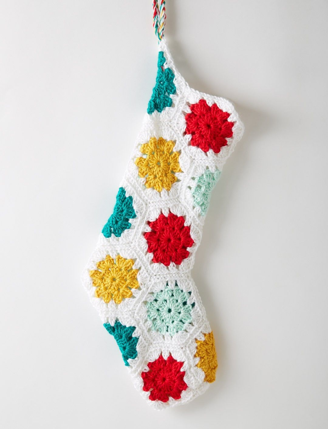 Yarnspirations.com - Caron On the Dot Stocking - Patterns ...