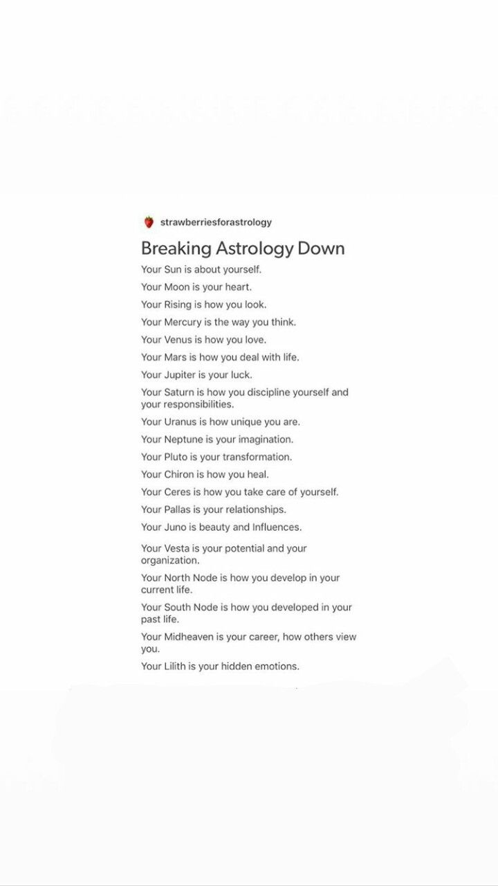 Breaking Astrology Down #astrology #astrologyaesthetic