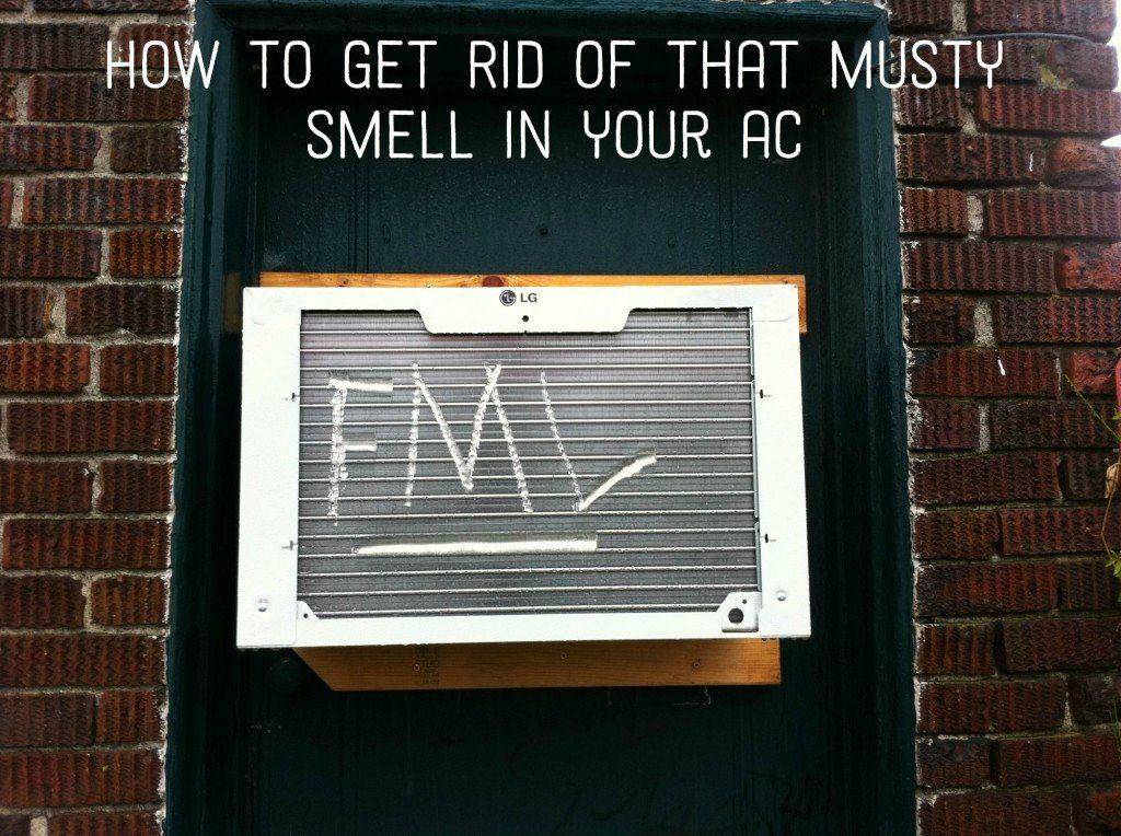 How To Remove A Mildew Smell From A Window Air Conditioner