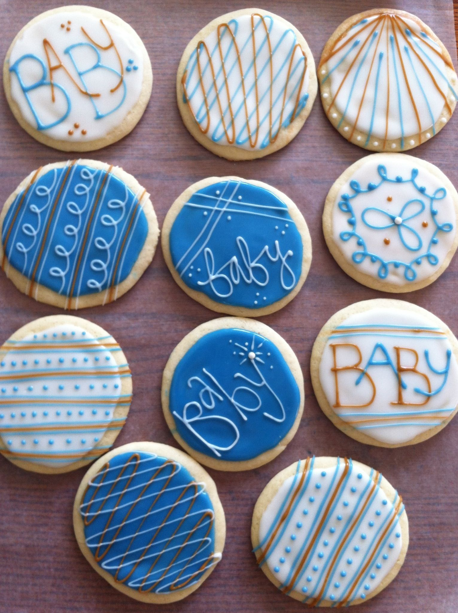 Good Boy Baby Shower Cookie Favors