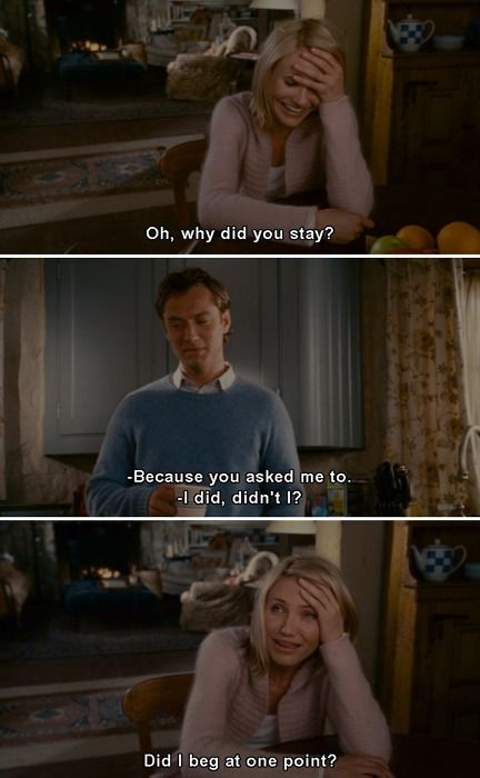 The Holiday I Could See Myself Doing This Haha Holiday Movie Quotes Holiday Movie Movie Quotes