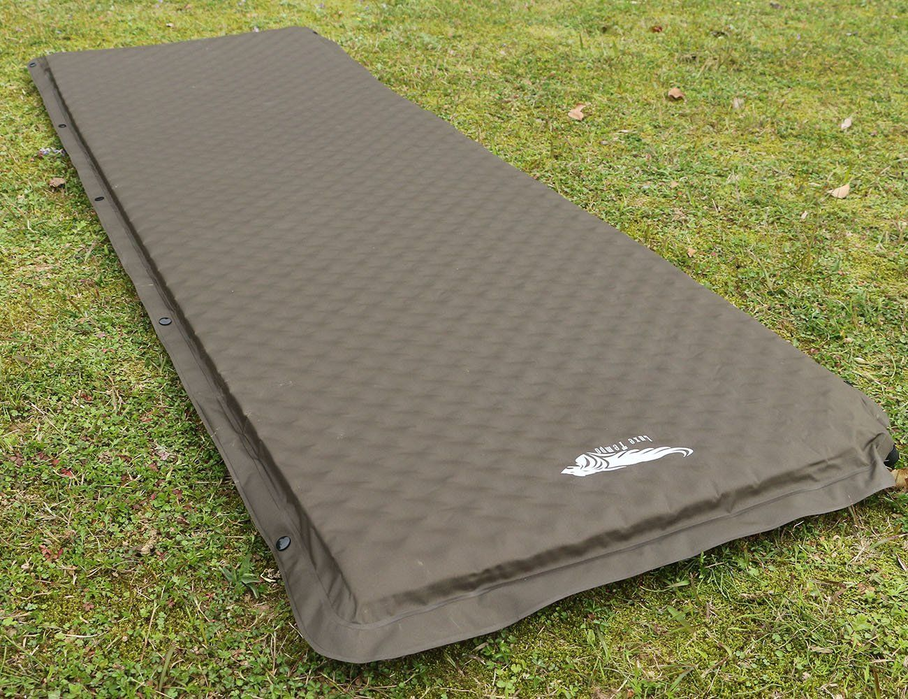 luxe tempo self inflating sleeping pad car camping mattress cot pad