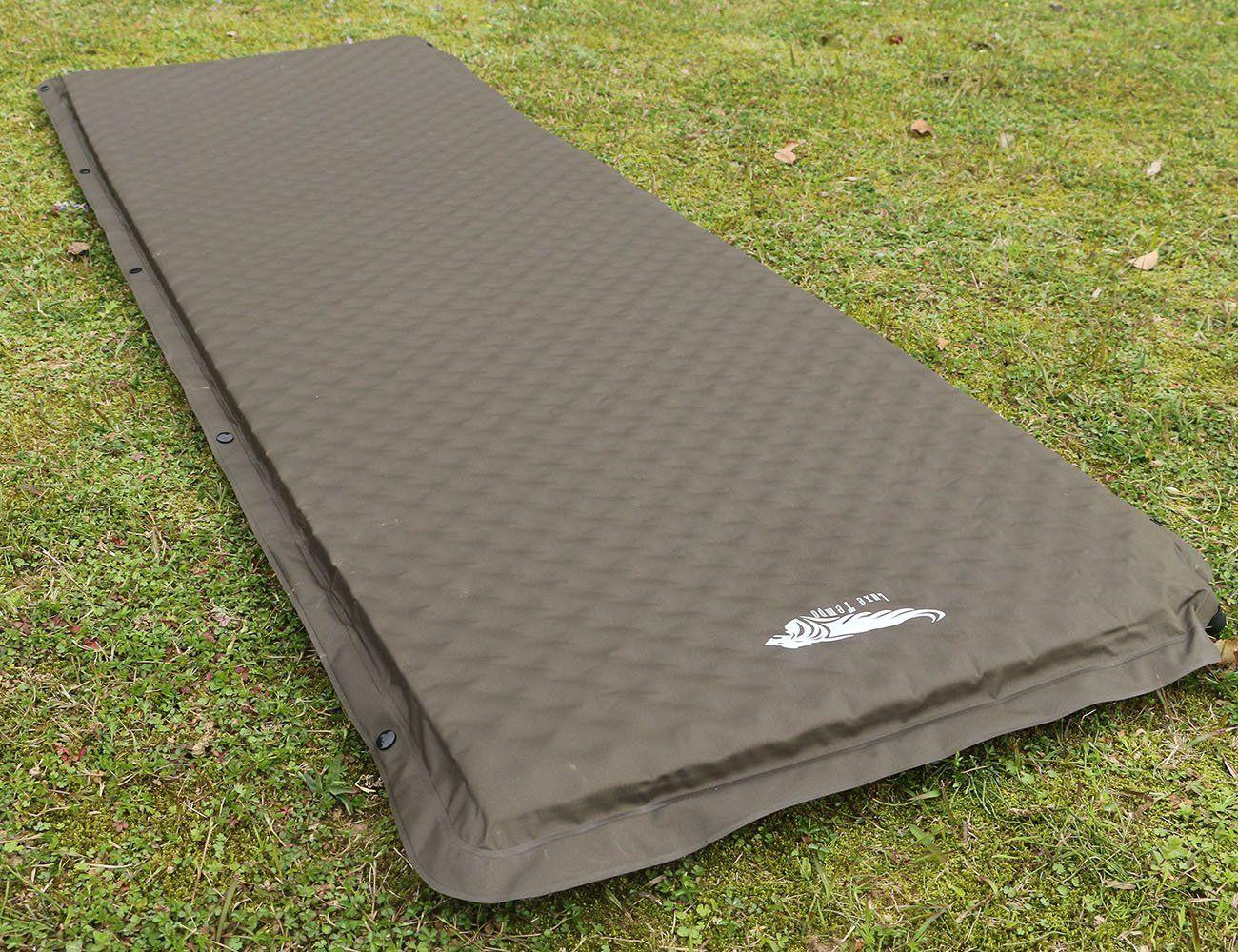 luxe tempo self inflating sleeping pad car camping mattress cot pad