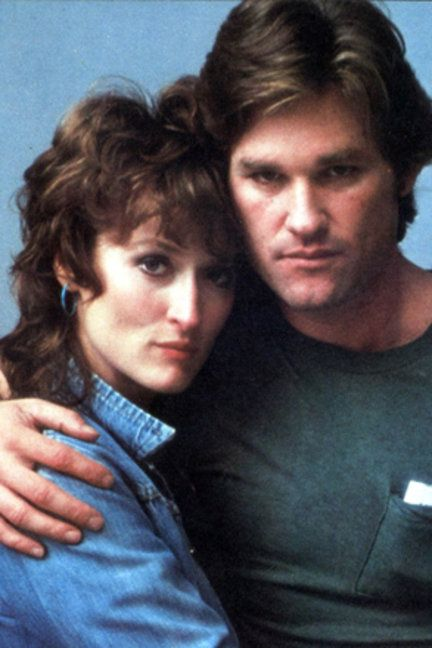 """With Kurt Russell in """"Silkwood"""""""
