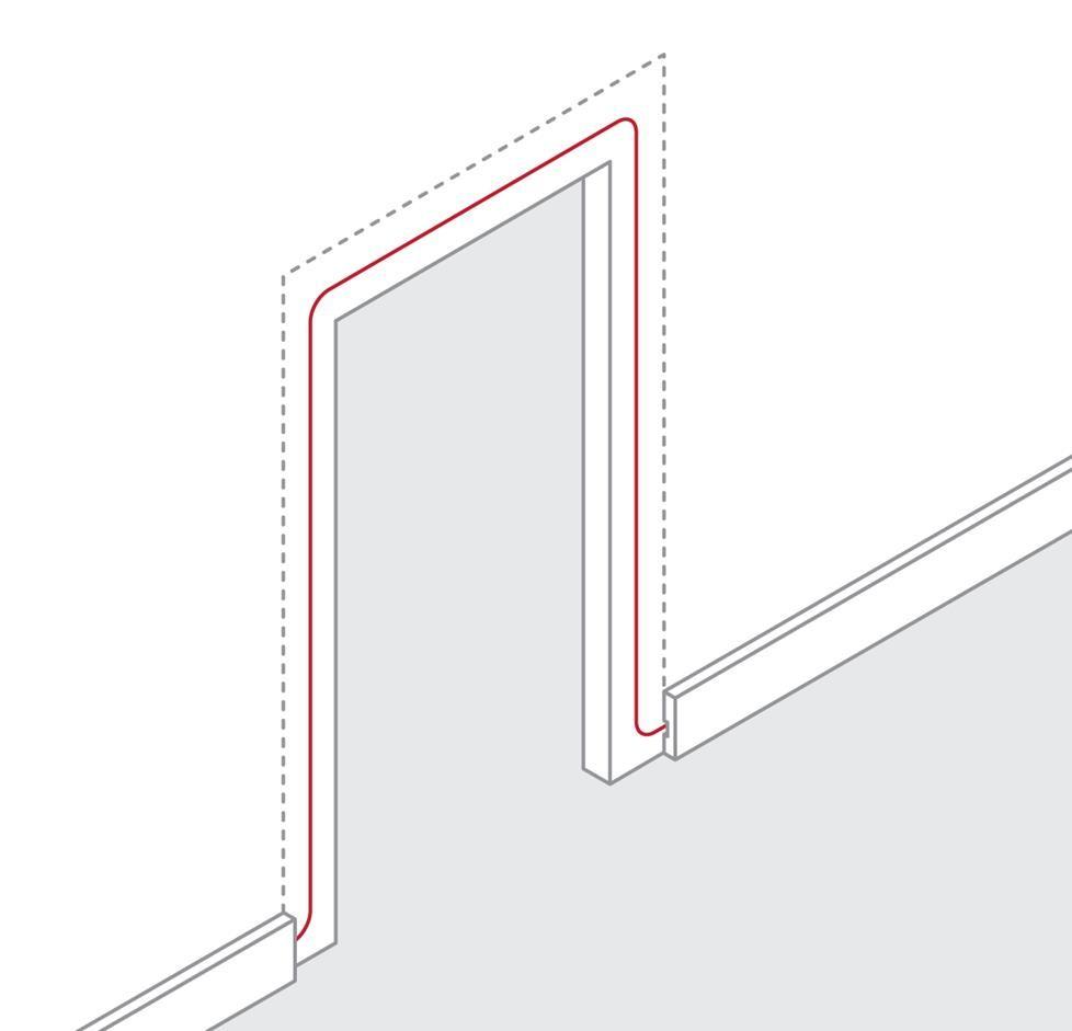how to run speaker wire through walls