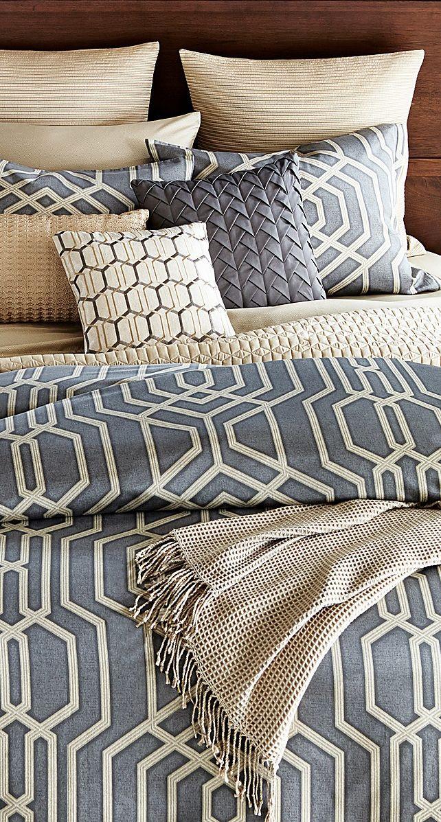 Oake Vertices Bedding home Pinterest Luxury bedding