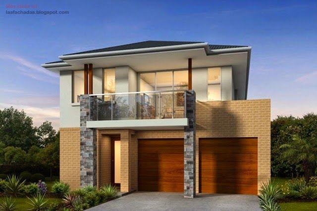 Fachadas de casas de dos pisos modernas casas de campo for Casa moderna 44 belvedere
