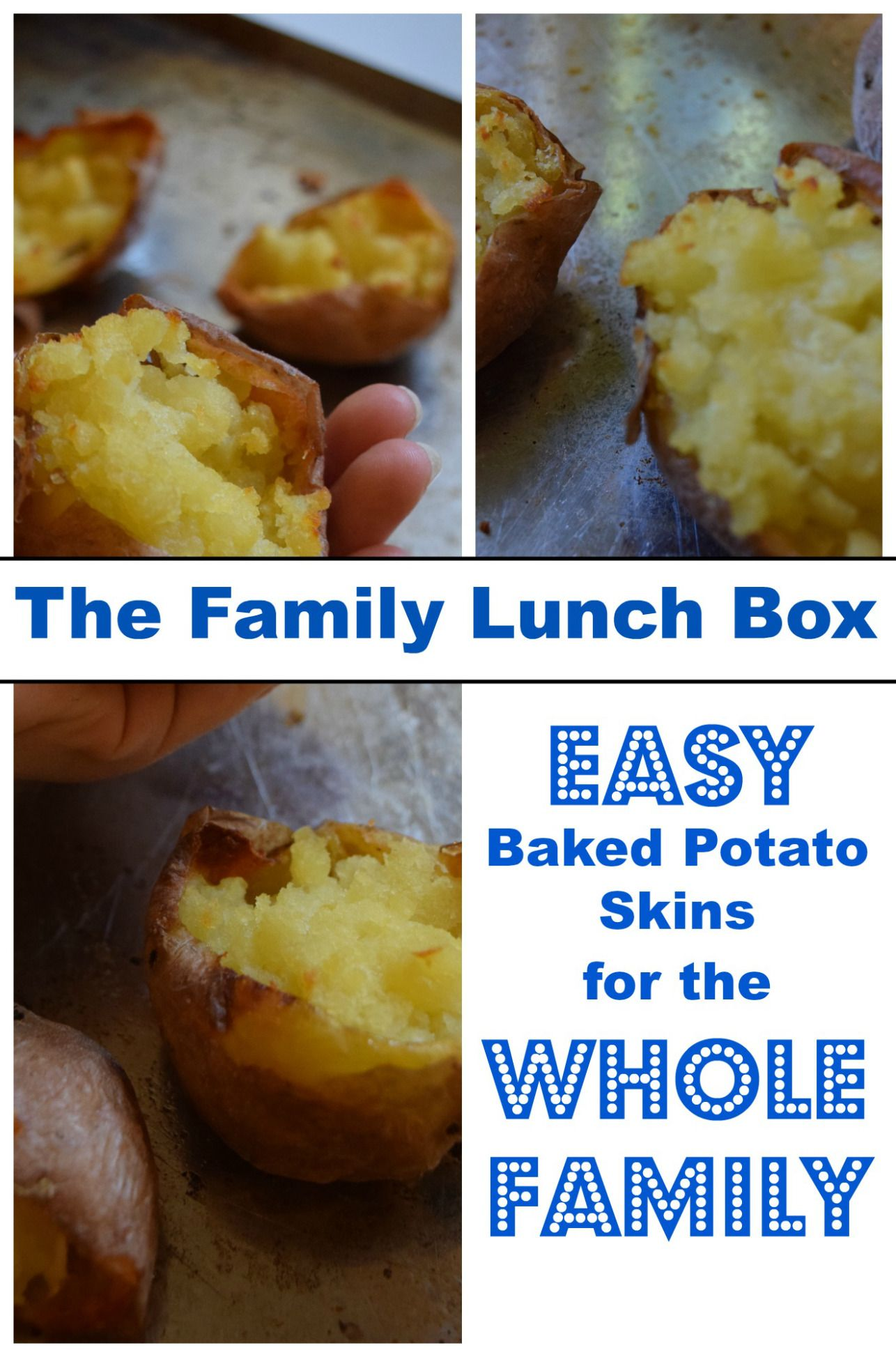 Superbowl Sunday Cooking With Kids: Easy Potato Skins for