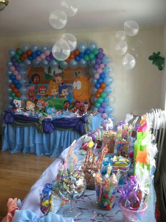 Bubble Guppies Bubble Guppies Birthday Party Bubble Guppies Party Bubble Guppies Party Favor