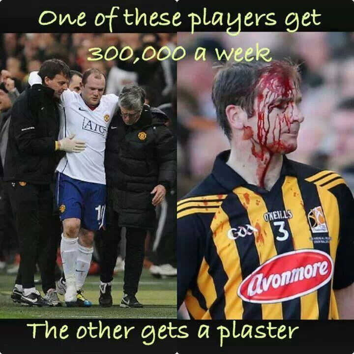 The Difference Between Football Soccer And Football Gaa Rugby Memes Rugby Quotes Football Memes