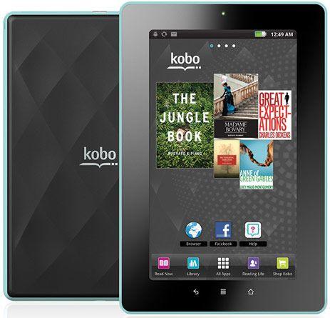 Joining Kindle Fire And Nook Tablet Kobo S Vox Ereader Lands At Best Buy Zdnet Nook Tablet Tablet Ebook Reader