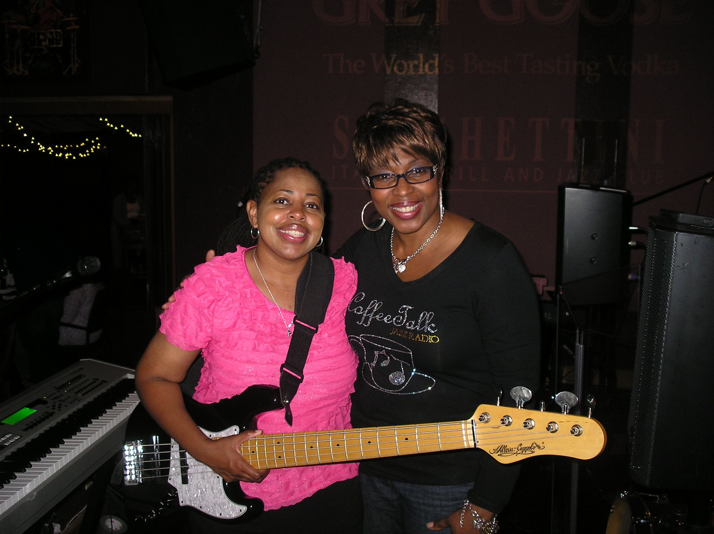 Robin Bramlett and the Coffeelady