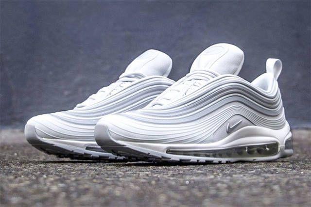 Mens Shoes Nike Air Max 97 Ultra 17 Se White Pure Platinum