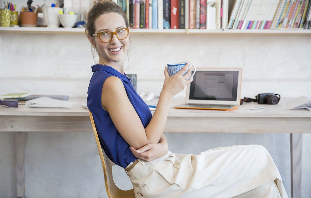 Here's how to make your work from home days healthy and productive—starting with not staying in your pajamas all. Day. Long.