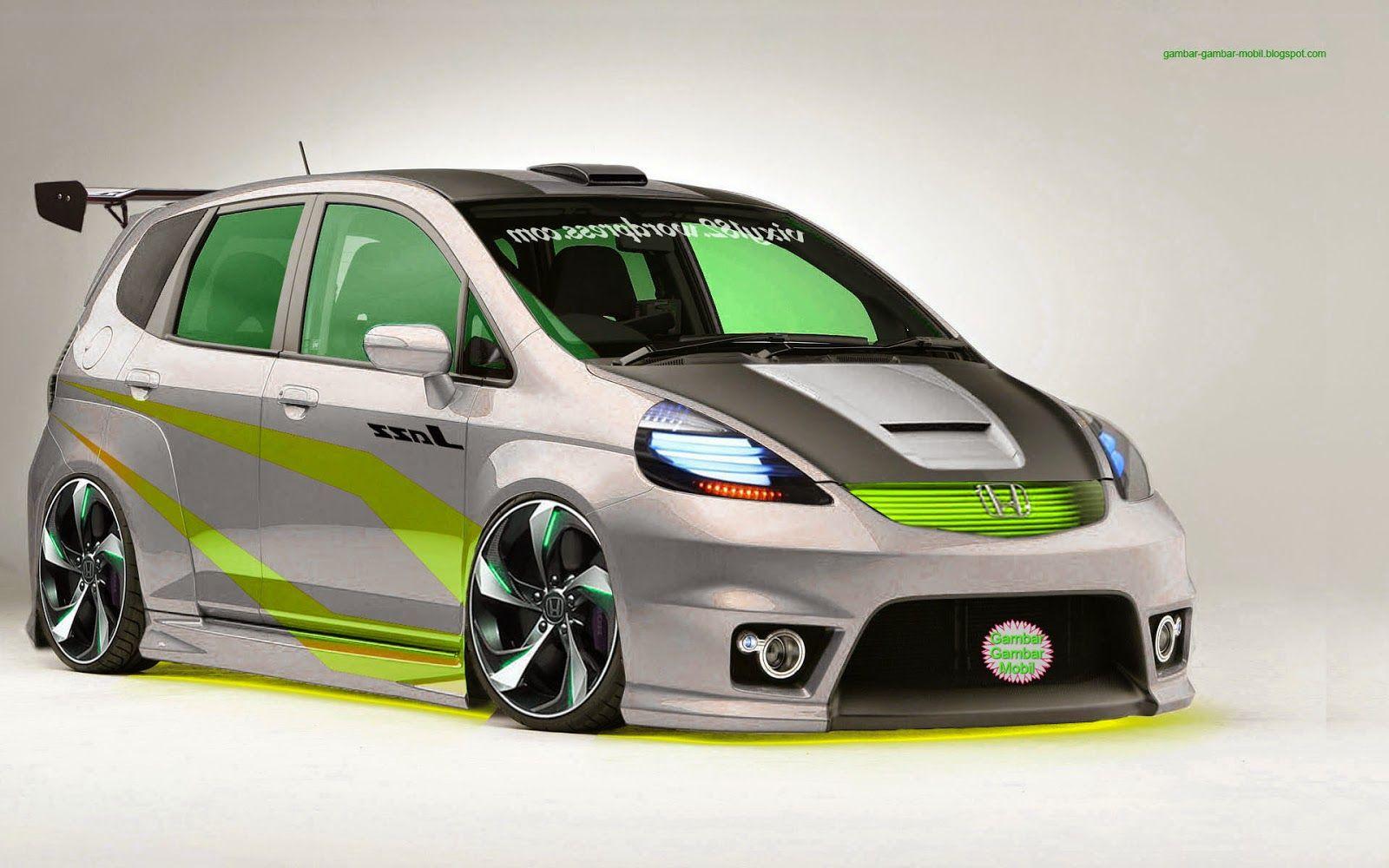 Gambar Mobil Modifikasi Gambar Gambar Mobil Honda Fit Modifikasi Mobil Mobil