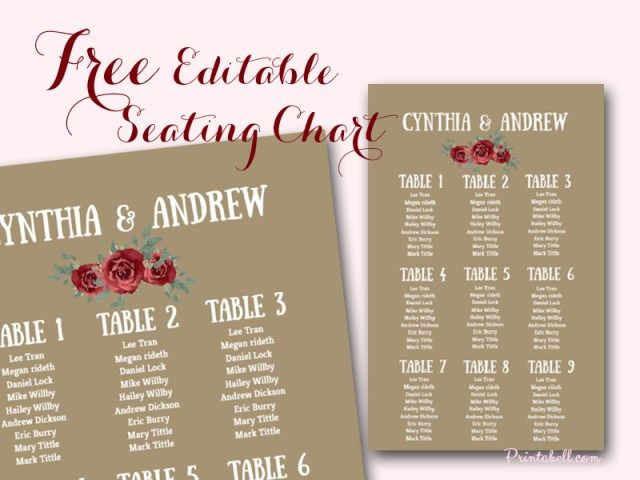 free stylish wedding seating chart printable all dressed in white
