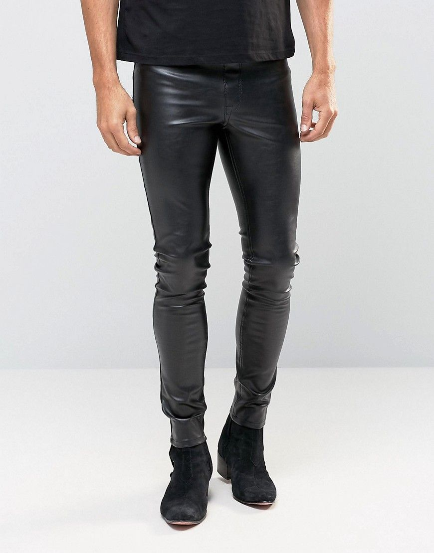 ASOS+Meggings+In+Faux+Leather