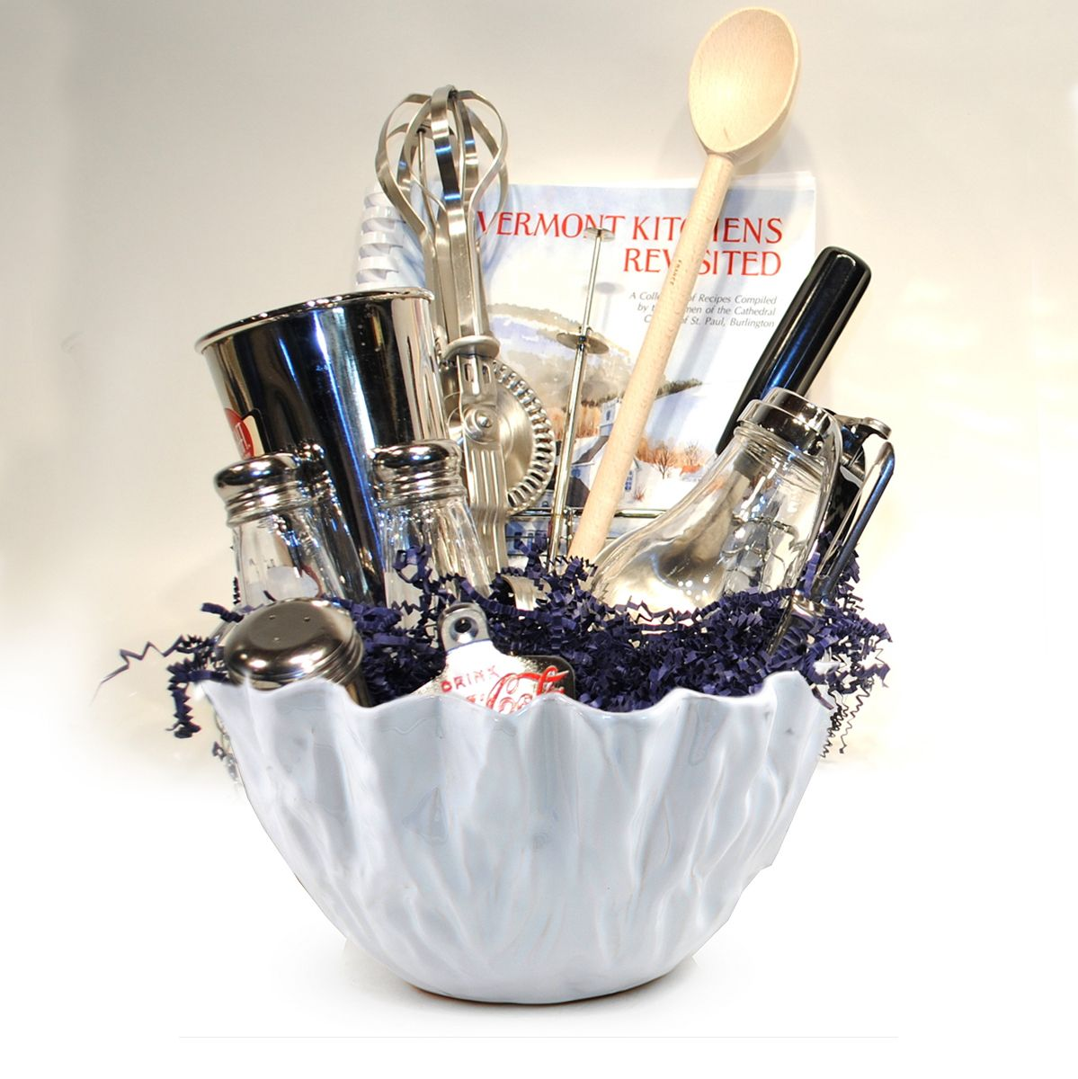 Add your kitchen utensils to a unique bowl, or give one away as a ...