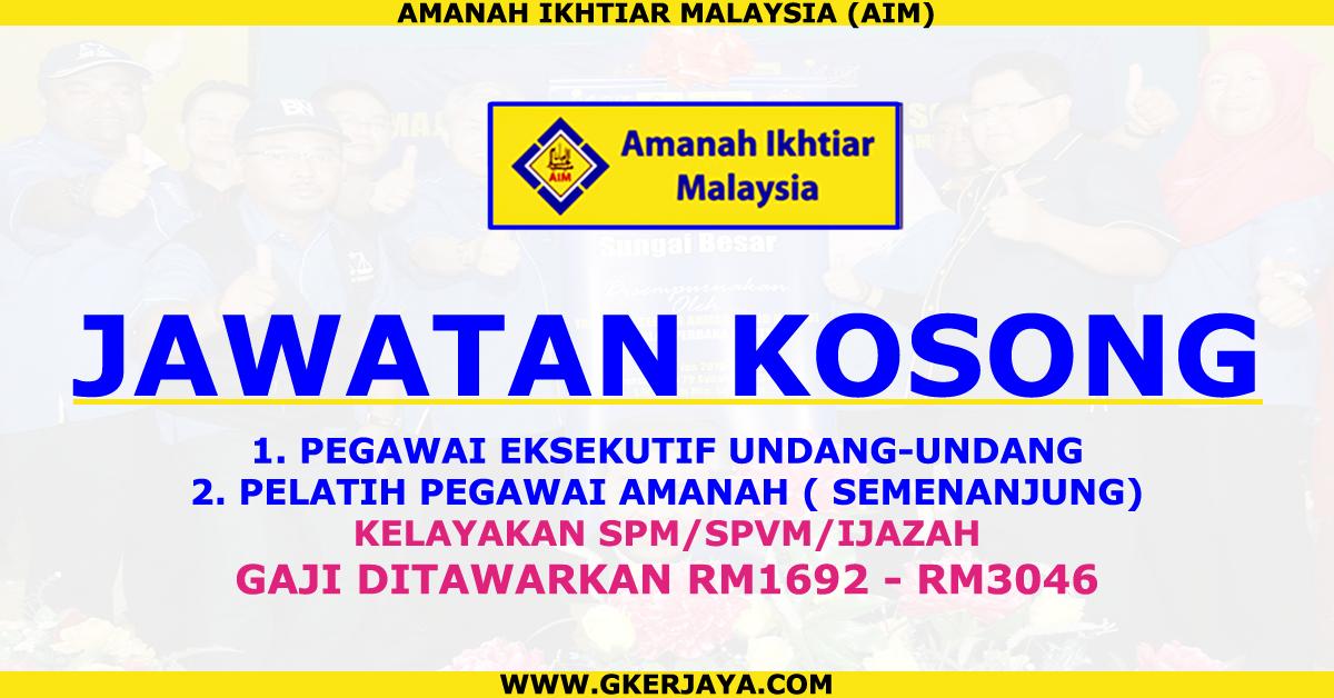Iklan Jawatan Kosong Amanah Ikhtiar Malaysia Jangan Lepaskan Peluang Untuk Segera Membuat Permohonan Jawatan Jawatan Yang Ditawarkan Malaysia Need A Job Job
