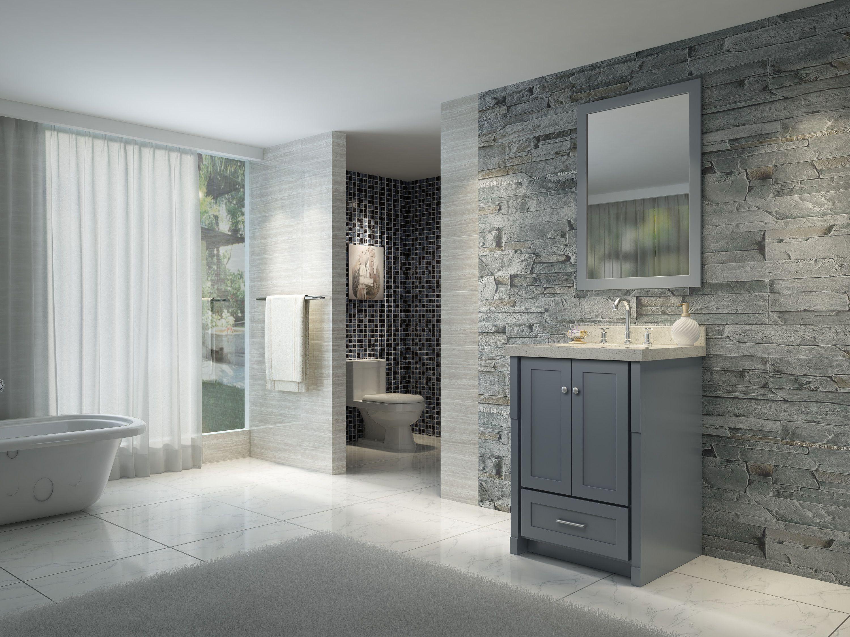 Grau Badezimmer Möbel Hellgraue badezimmer