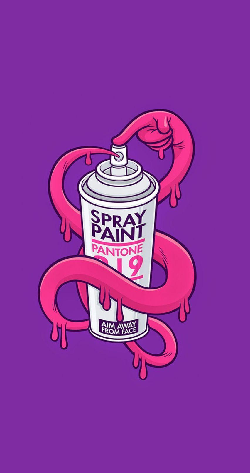 Spray Paint Mobile9 Graffiti Characters Graffiti Drawing Art Wallpaper Iphone