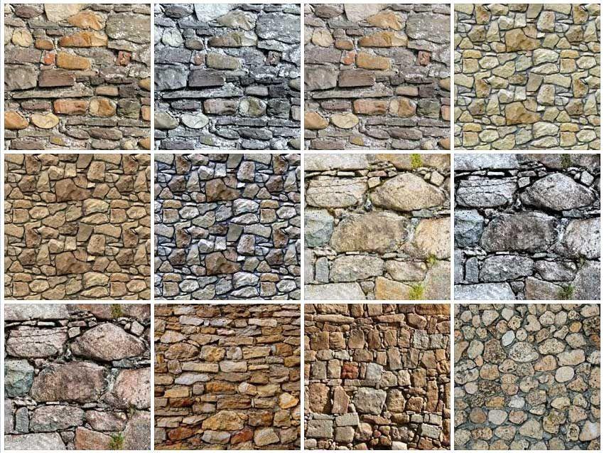 SeamlessStoneWallTextureA  Textura    Wall