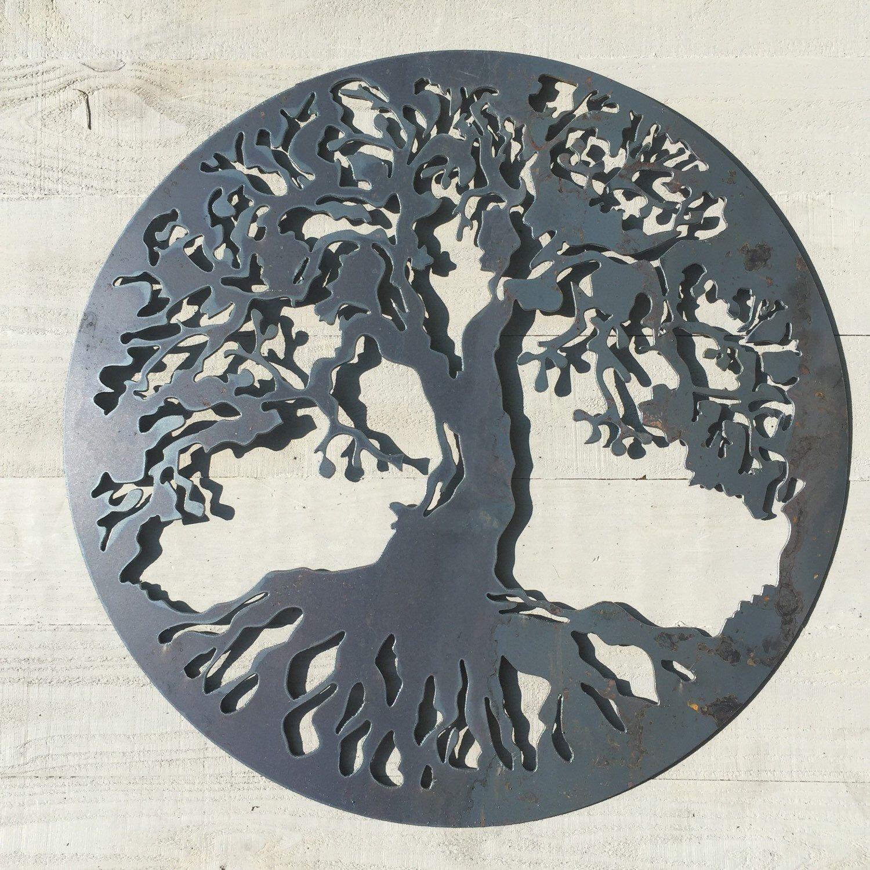 Tree Of Life Art, Metal Tree Of Life, Wall Decor, Rustic Wall Art