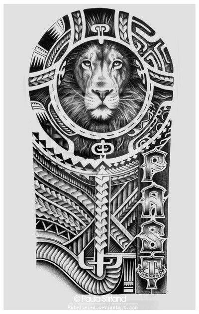 Beautiful LEO Tattoo! Must Have! …