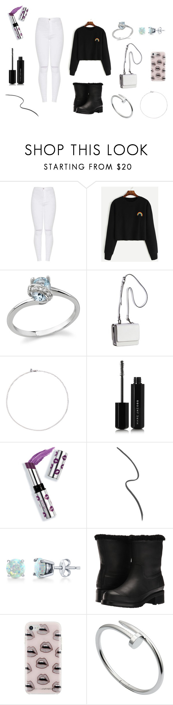 """""""Outfit ♡"""" by aincompleta on Polyvore featuring moda, WithChic, Kendall + Kylie, Marc Jacobs, Ciaté, Gucci, BERRICLE, Hunter, Rebecca Minkoff e Cartier"""