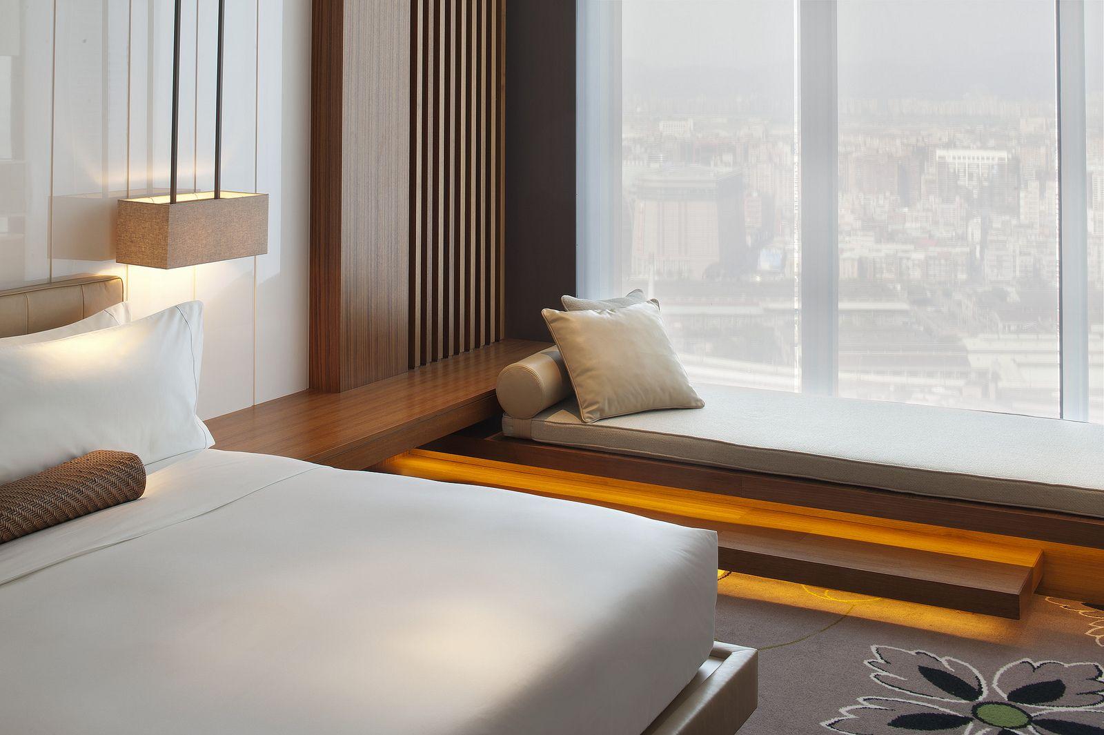 Bed on bay window  w taipeiufabulous room  room bedrooms and bed room