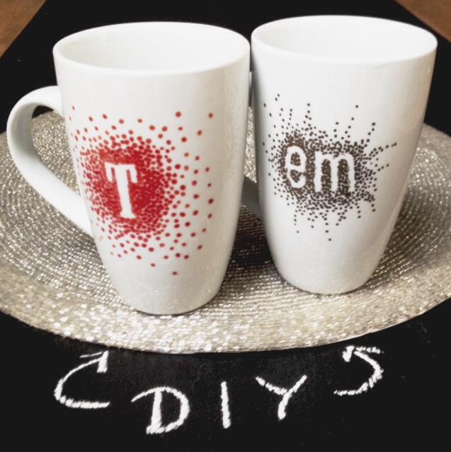 Decorate White Mug With Sharpie And