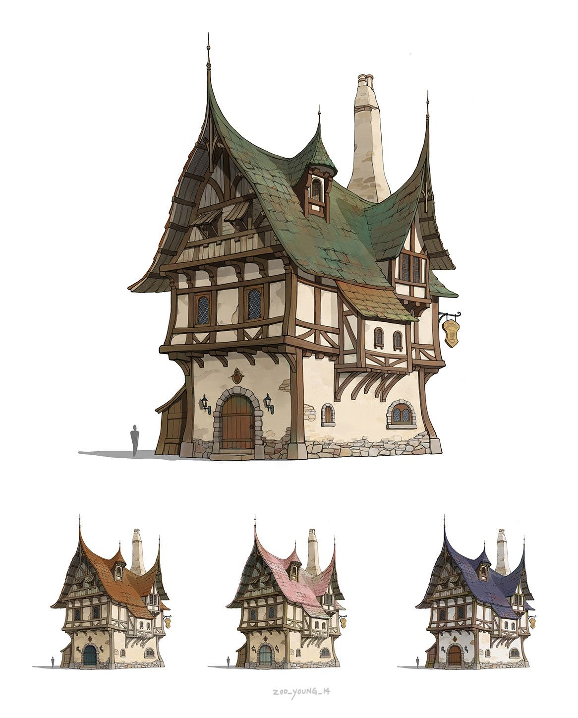 Pin by Han Hunter on iBuildingsi in 2019 Medieval houses