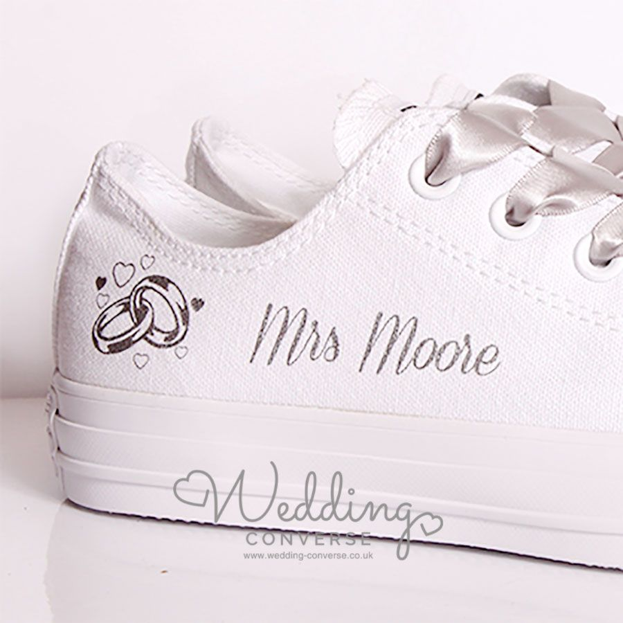 Personalised Bridal Shoes l Personalise