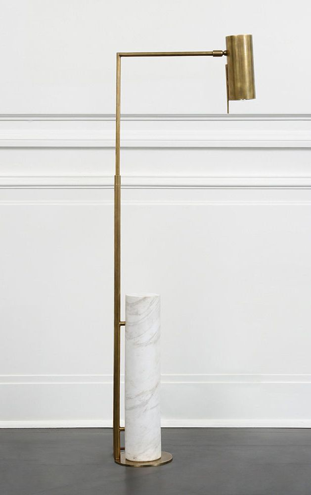 Alma floor lamp kelly wearstler floor lamp and marbles