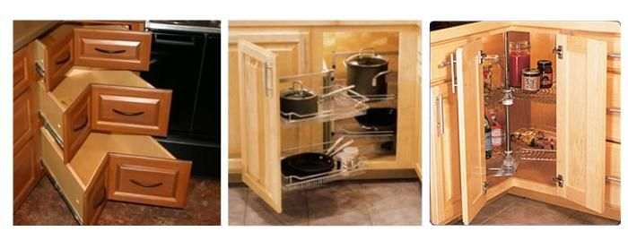 kitchen corner cabinet storage solutions storage areas in a kitchen is the corner kitchen. Black Bedroom Furniture Sets. Home Design Ideas