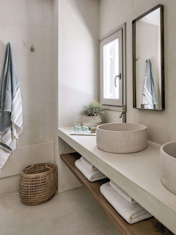 Espacio de baño | Phos House de Stone & Walls, Islas ...