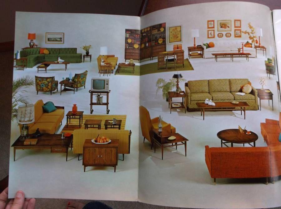 Vintage Lane Furniture Table Portfolio Catalog Fall 1964 Lane Furniture Table Furniture Furniture