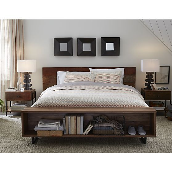 Atwood Bed Crate And Barrel Bed Design Bookshelf Bed Queen