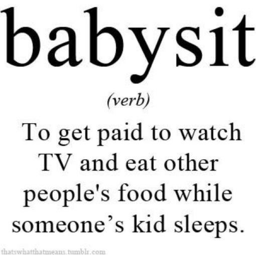 other words for babysitting