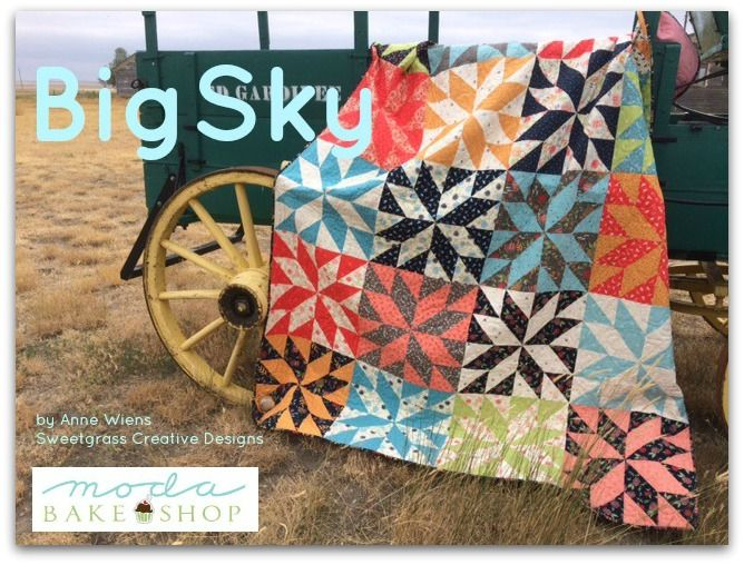 Big Sky Quilt Sky Quilt Quilts Layer Cake Quilts