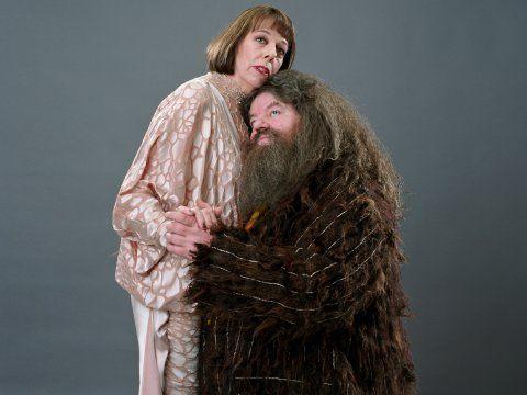 Hagrid E Madame Maxime Dancam Lentamente Juntos Hagrid Hagrid Costume Harry Potter Characters