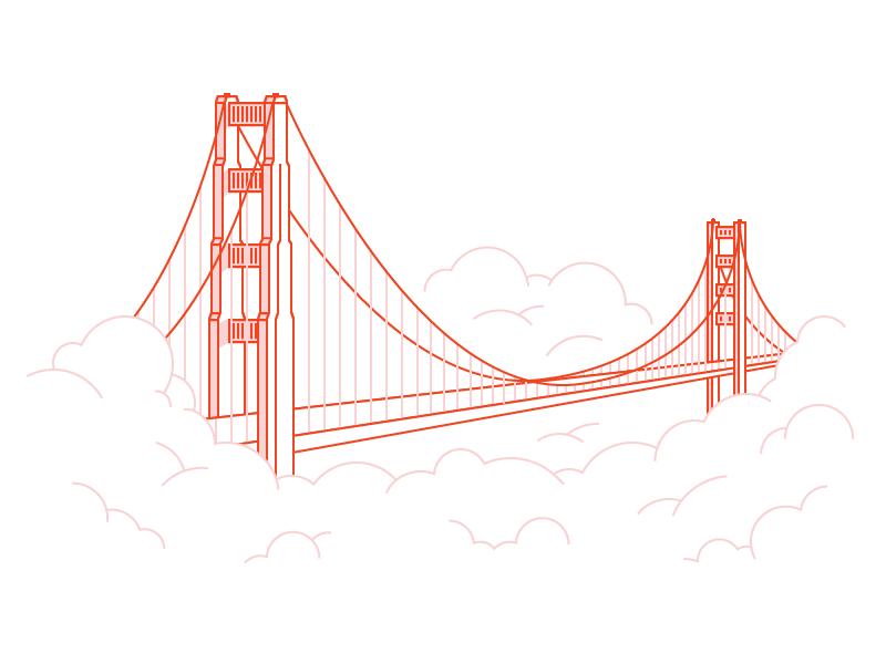 Golden Gate Golden Gate Cityscape Drawing Golden Gate Bridge